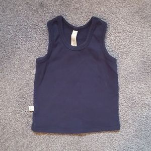 Childhoods Clothing Navy Blue Tank Top